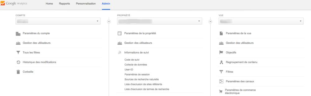 Google Analytics trouver code de suivi